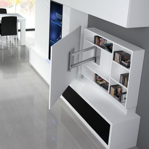 14 muebles indispensables para ordenar tu departamento y ahorrar espacio